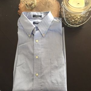 Men's Izod light blue dress shirt